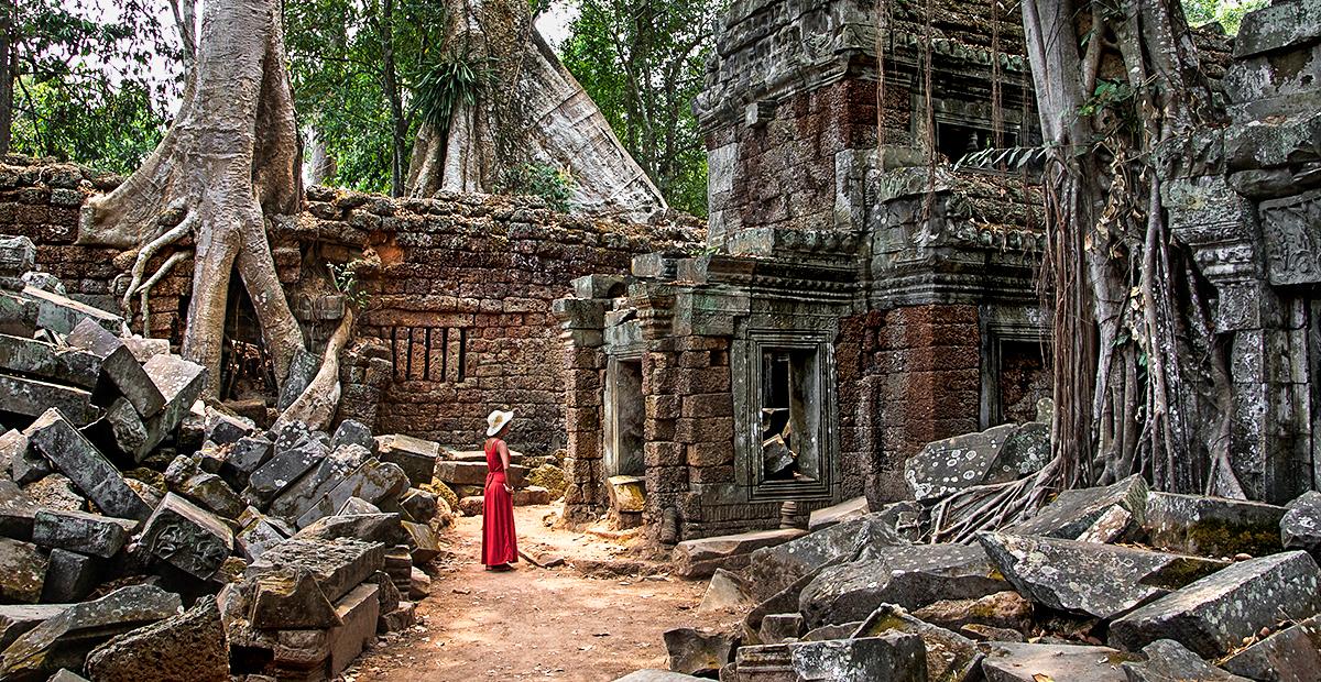 The Ta Prom Temple, Cambodia