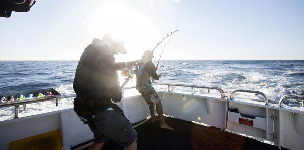 Mahi Mahi Fishing Charters, Coral Bay, WA
